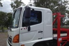 Trucks On-Site Tint