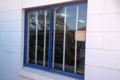 BEFORE Warehouse Window Tint