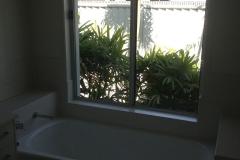 BEFORE bathroom window Opaque Film