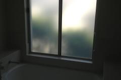 AFTER bathroom window Opaque Film