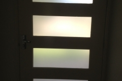 Front Door full Privacy Opaque Film