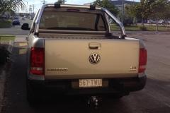 VW Amarok Car Tint
