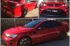 The Red Devil 'Stolen' Tint