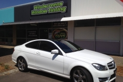 Mercedes Benz Car Tint