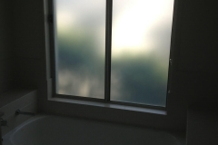 AFTER bathroom window Opaque Film